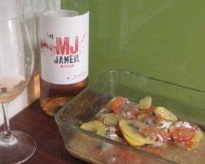 MJ Janeil ja tomaattiperunavuoka